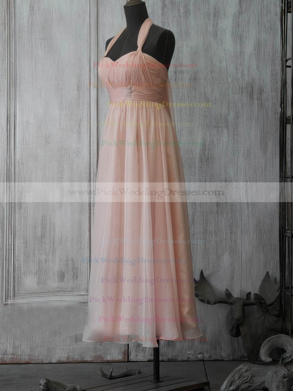 A-line Tea-length Chiffon Beading Sweetheart Bridesmaid Dresses #PWD02017891