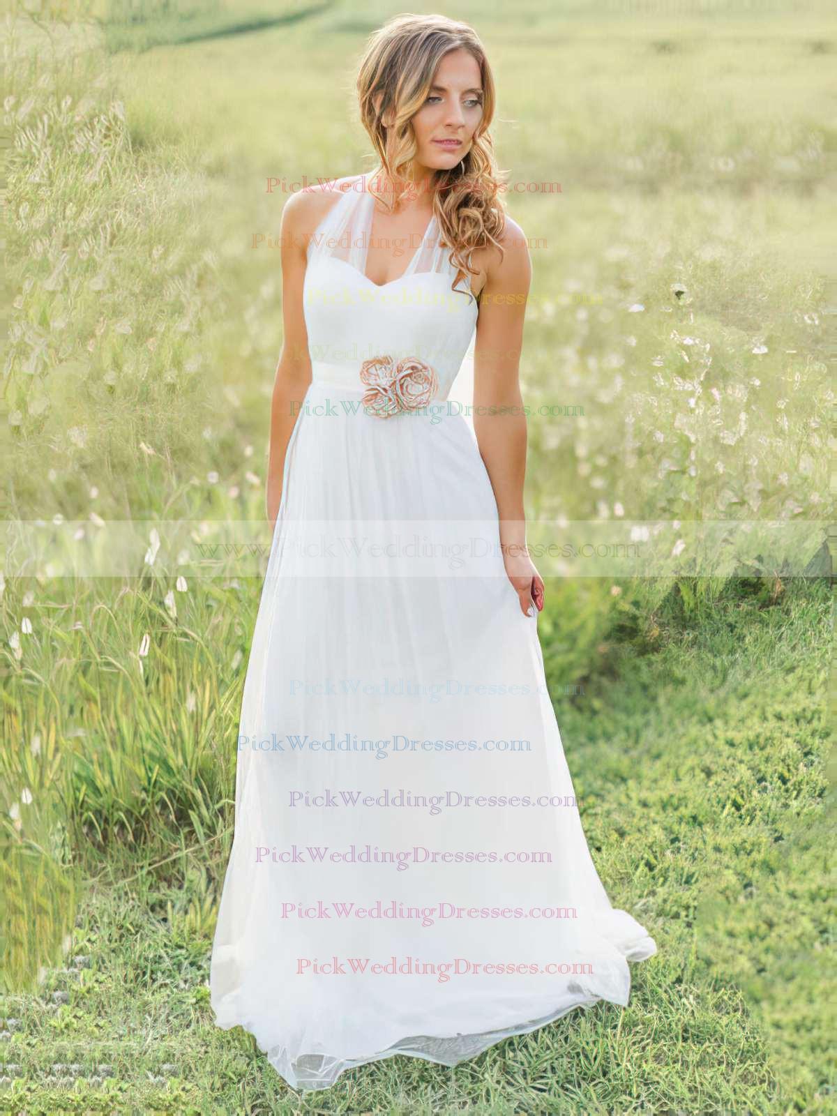 http://www.pickweddingdresses.com/elegant-halter-white-tulle-a-line-sashes-ribbons-sweep-train-amazing-wedding-dress-pwd00021270-p1149.html?utm_source=post&utm_medium=PWD007&utm_campaign=blog