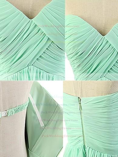Floor-length Sweetheart Chiffon with Ruffles Perfect Bridesmaid Dresses #PWD01012817