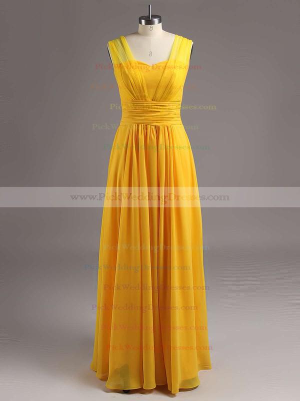 Sweetheart Chiffon Ruffles Sweep Train Modest Sage Bridesmaid Dress #PWD01012826