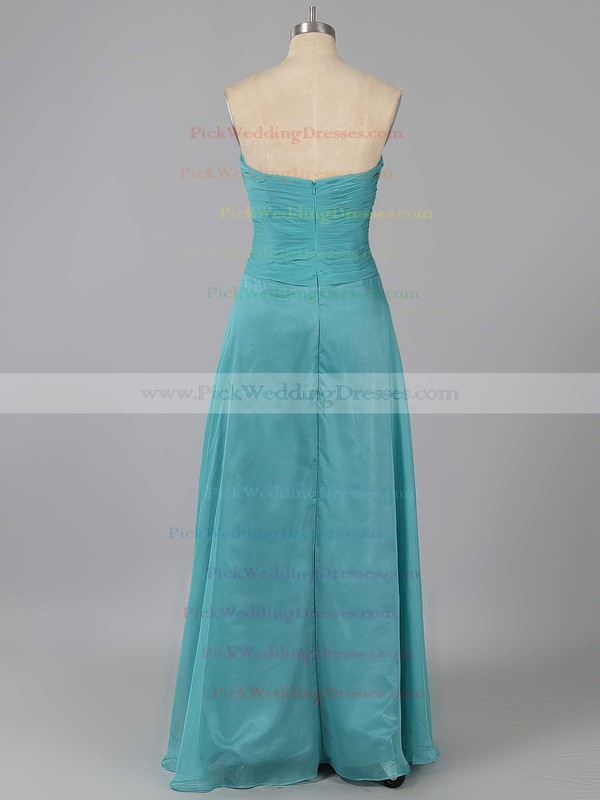 Sweep Train Sweetheart Chiffon with Ruffles Inexpensive Bridesmaid Dresses #PWD01012878