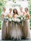 Fabulous V-neck Tulle with Appliques Lace Court Train Trumpet/Mermaid Wedding Dresses #PWD00022576