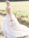 Trumpet/Mermaid Sweetheart Tulle with Beading New Arrival Detachable Wedding Dresses #PWD00022769