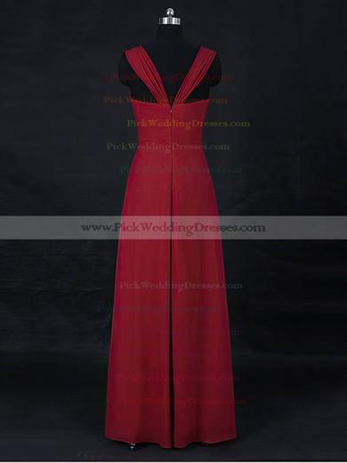 Chiffon Sweetheart Floor-length Empire with Ruffles Bridesmaid Dresses #PWD01013122