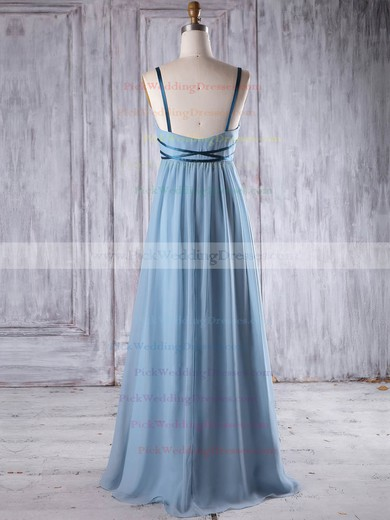Chiffon V-neck Floor-length Empire with Sashes / Ribbons Bridesmaid Dresses #PWD01013262