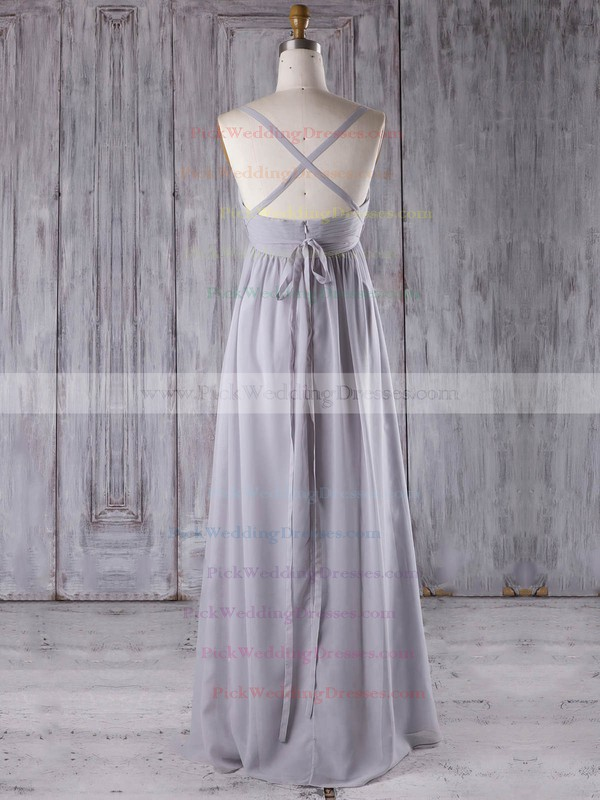 Chiffon Sweetheart Floor-length Empire with Sashes / Ribbons Bridesmaid Dresses #PWD01013277