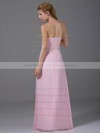 Empire Floor-length Chiffon Ruched Strapless Bridesmaid Dresses #PWD02012881
