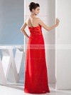 Sheath/Column Floor-length Chiffon Ruched Sweetheart Bridesmaid Dresses #PWD02012976