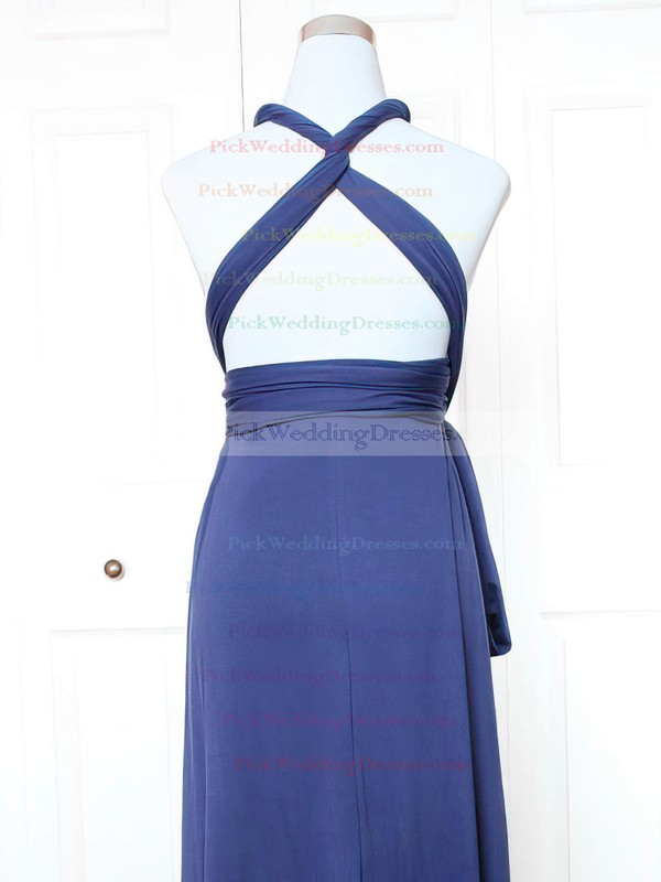 Jersey V-neck Short/Mini A-line with Ruffles Bridesmaid Dresses #PWD01013143
