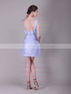 A-line Short/Mini Satin Bow Bateau Bridesmaid Dresses #PWD02013638