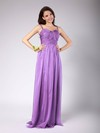 Sheath/Column Floor-length Chiffon Pleats Spaghetti Straps Bridesmaid Dresses #PWD02013606