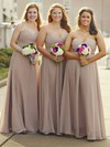 Chiffon Sweetheart Floor-length A-line Ruffles Bridesmaid Dresses #PWD01013684