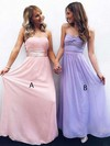 Chiffon Sweetheart Floor-length Empire Sashes / Ribbons Bridesmaid Dresses #PWD01013692