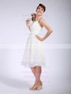 Ball Gown Knee-length Organza Pleats Sweetheart Bridesmaid Dresses #PWD01012047