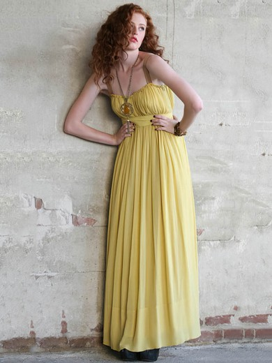 A-line Floor-length Chiffon Sashes / Ribbons Sweetheart Bridesmaid Dresses #PWD02018008