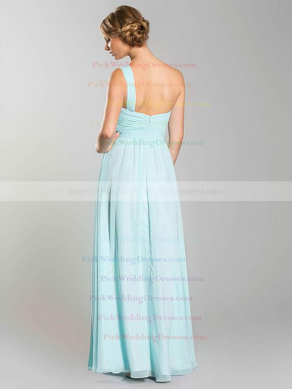 A-line Floor-length Chiffon Ruffles Sweetheart Bridesmaid Dresses #PWD02018054